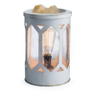 Candle Warmers Electrische Waxbrander Arbor Edison Bulb Wit